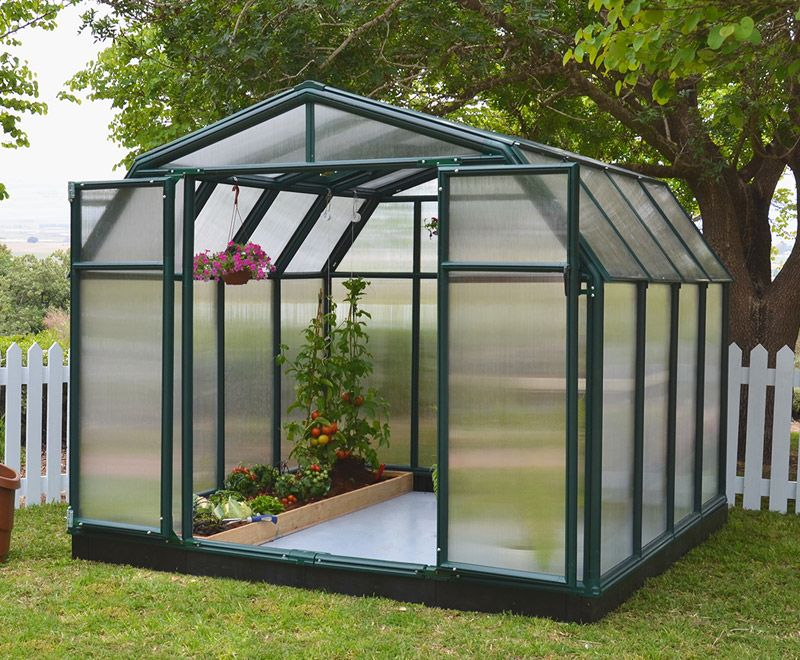 Rion Hobby Gardener 8x8 Greenhouse Polycarbonate