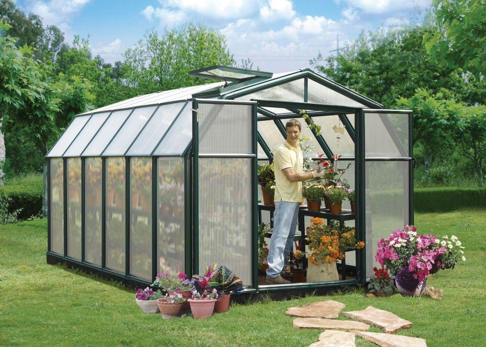 Rion Hobby Gardener 8x12 Greenhouse Polycarbonate