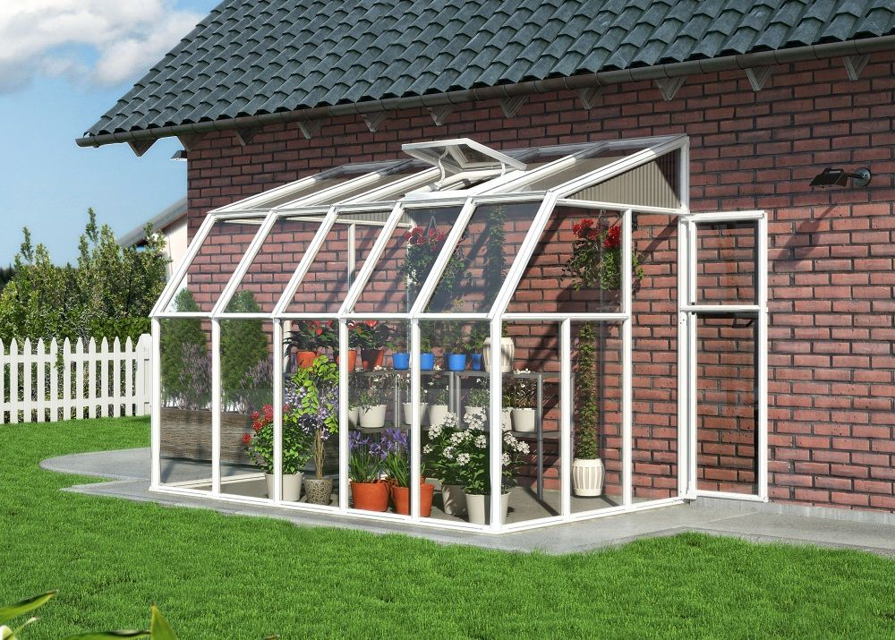 Rion sun room 6x10 lean to greenhouse polycarbonate - 10 by 10 room ...