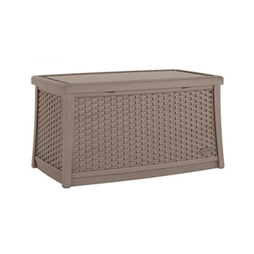 Suncast 114litre Coffee Table With Storage In Dark Taupe