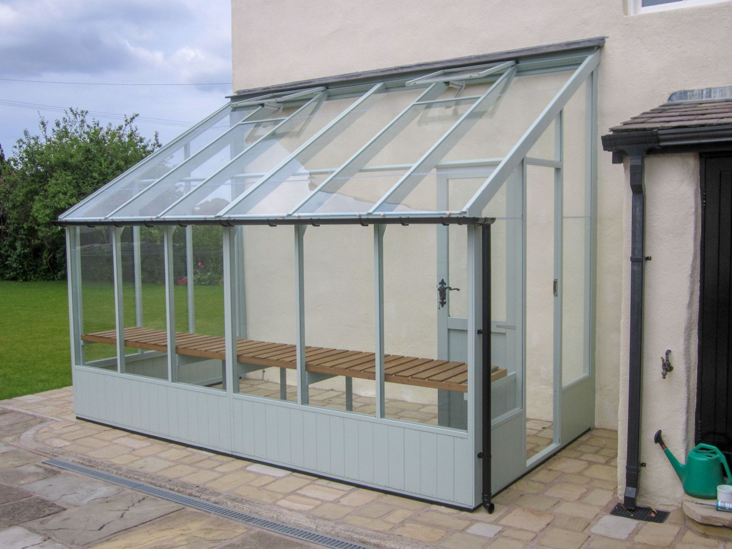 Swallow Dove 6x16 Lean To Greenhouse Greenhouse Stores