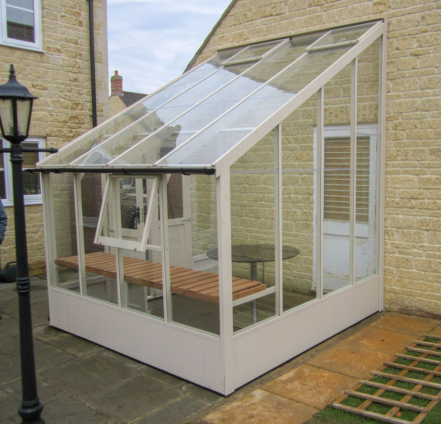 Swallow Heron 8x6 Lean To Greenhouse Greenhouse Stores