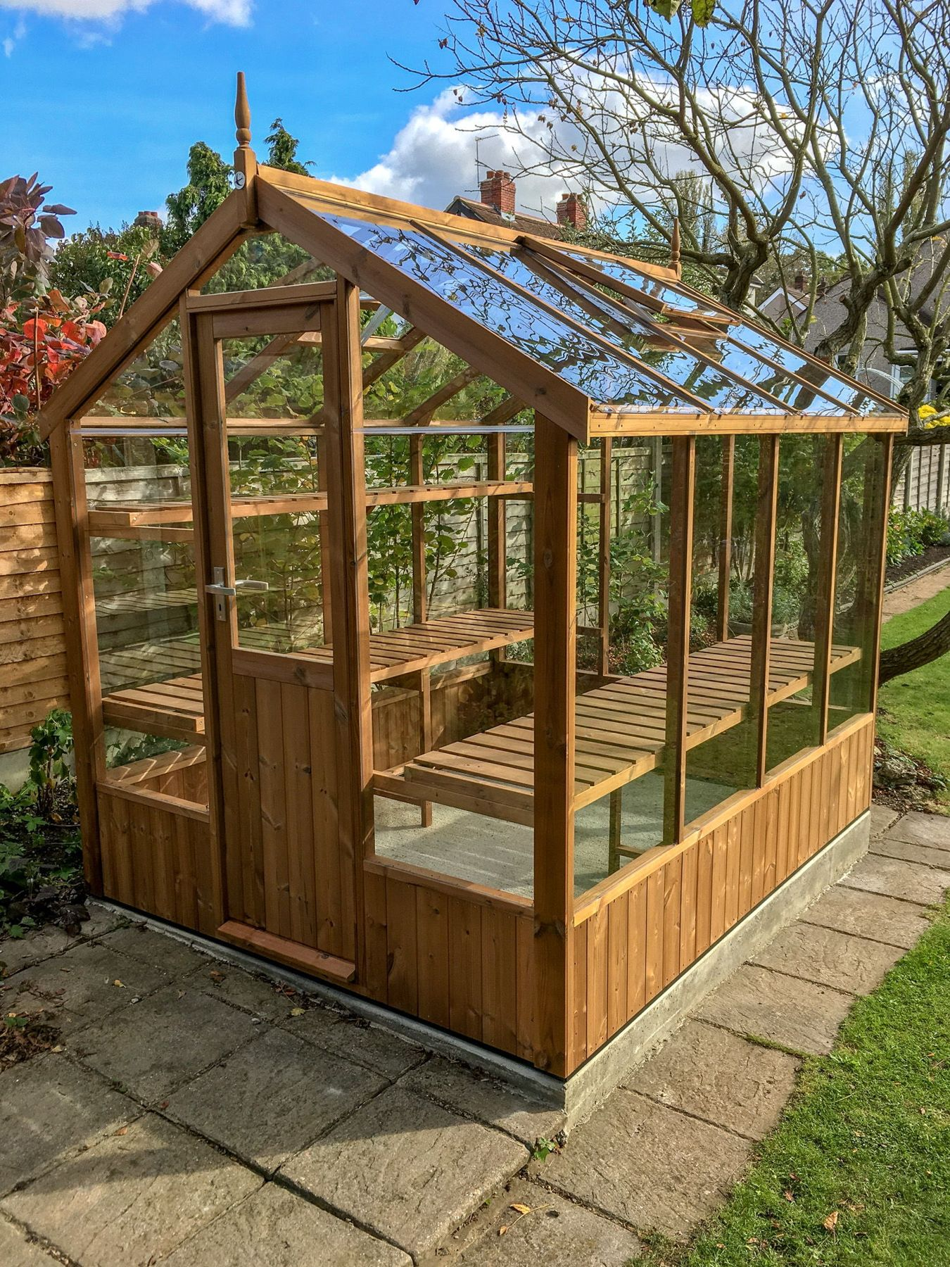 Wooden greenhouses free installation delivery