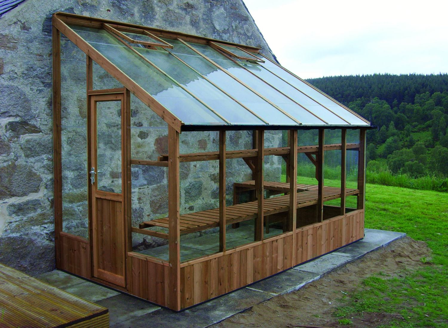 Swallow Dove 6x4 Lean To Greenhouse Greenhouse Stores