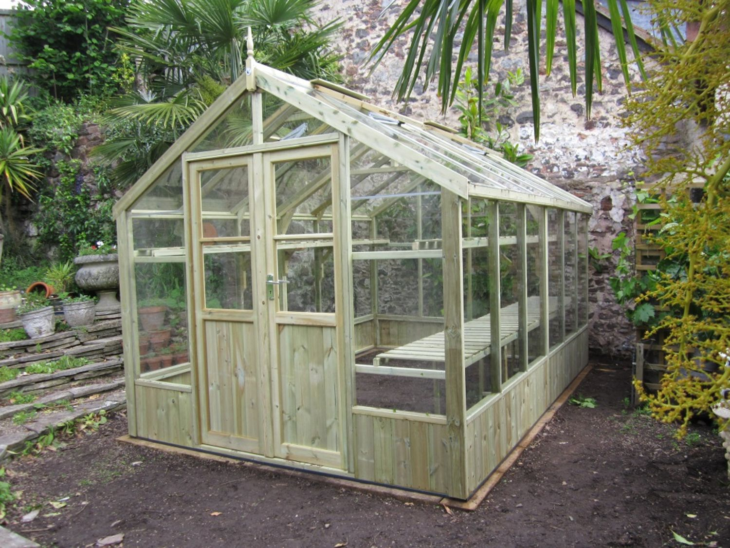 Swallow Raven 8x12 Wooden Greenhouse Greenhouse Stores