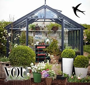 Swallow Greenhouses as seen on You Magazine