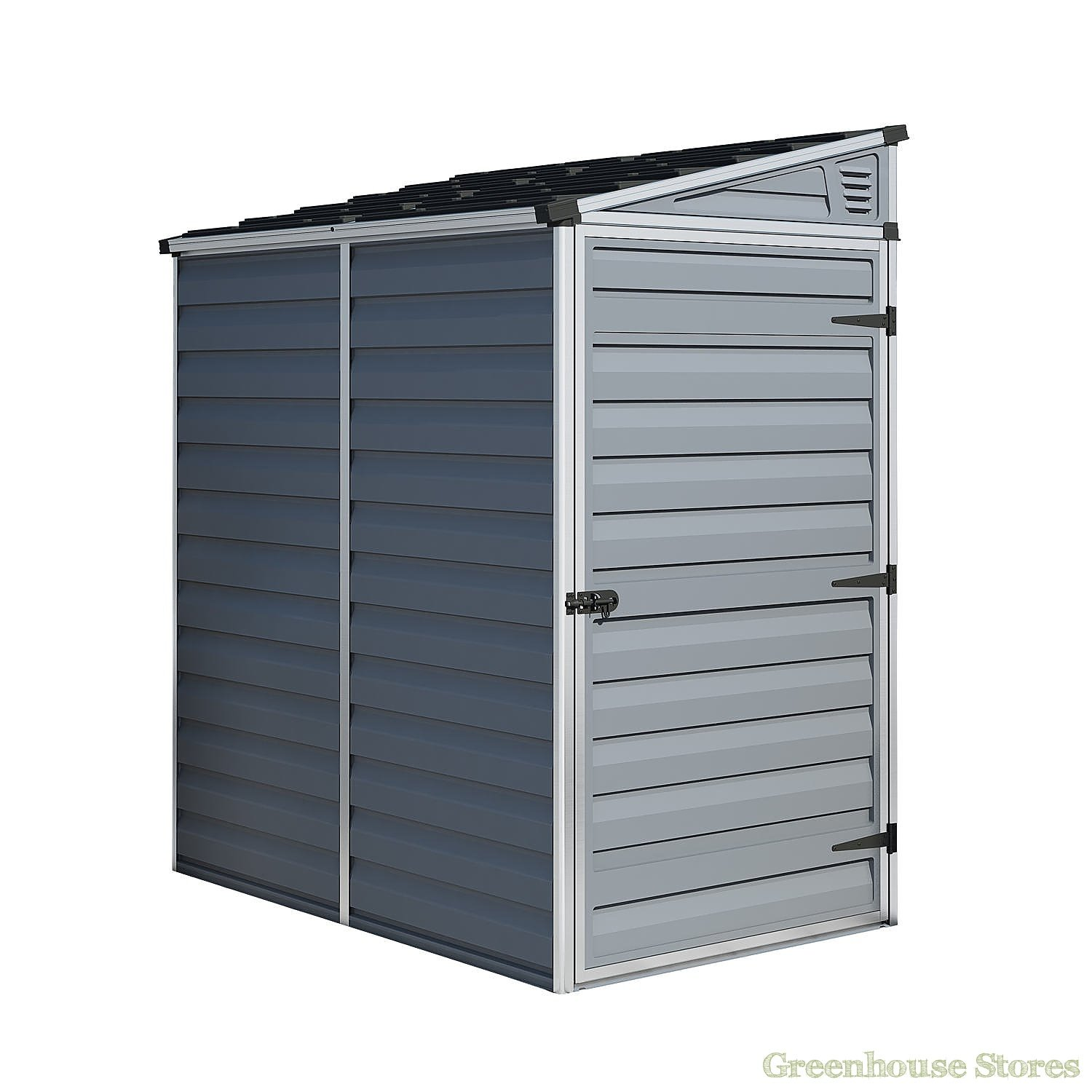 Palram 4x6 Pent Plastic Skylight Grey Shed