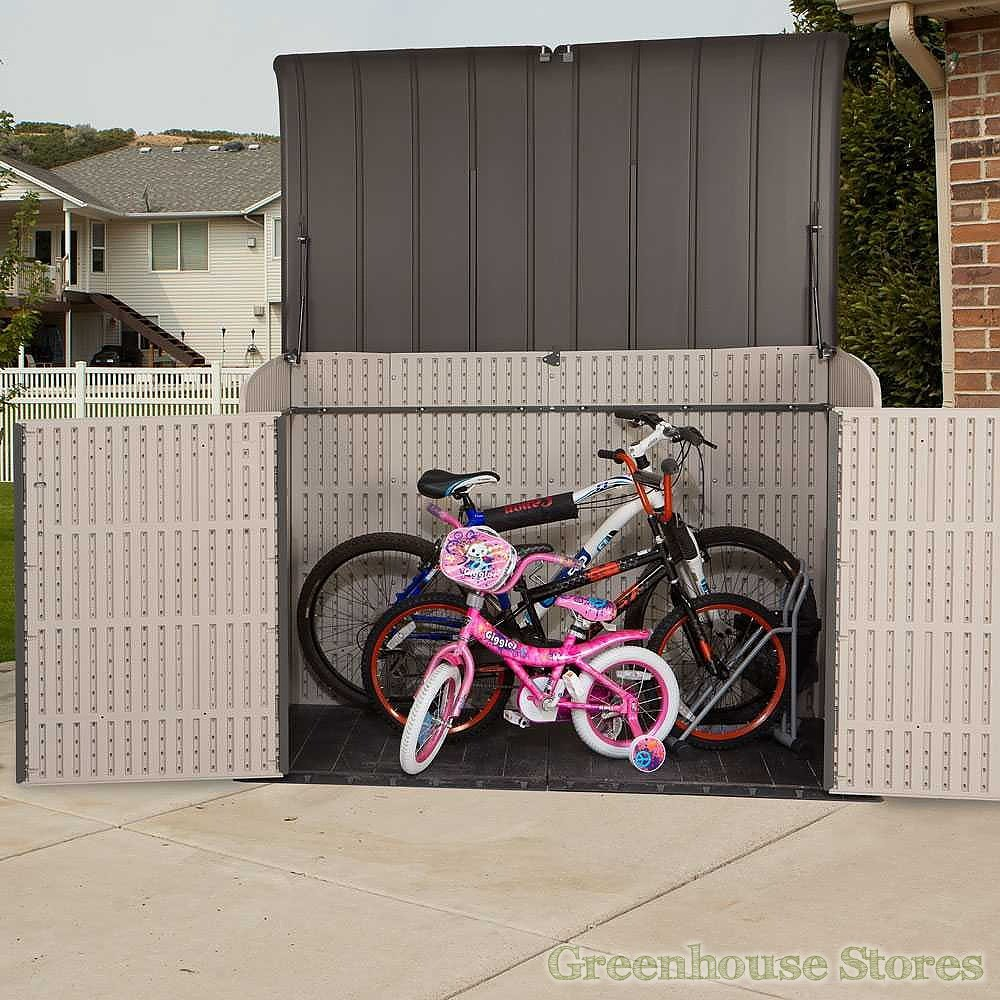Lifetime 6x3 5 Plastic Outdoor Storage Unit