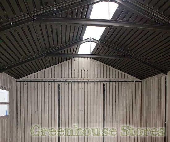 Plastic shed greenhouse free shed plans 8x8 online for Greenhouse skylights