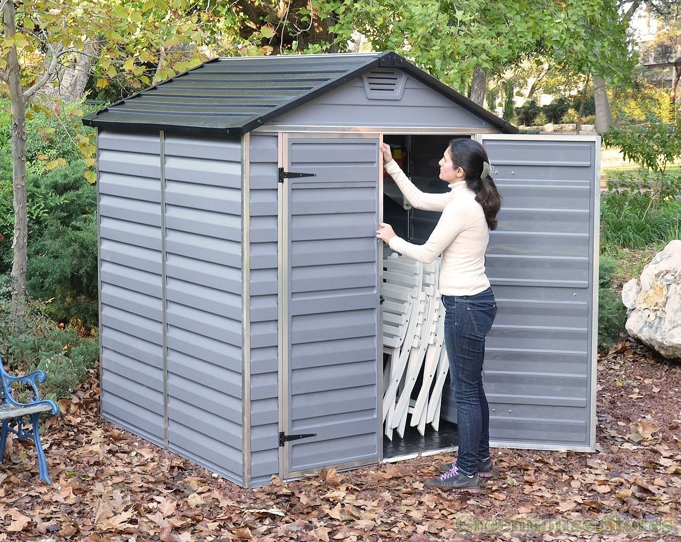 Palram Shed 6 X 12 6 X 4 Plastic Apex Shed Buy Cheap