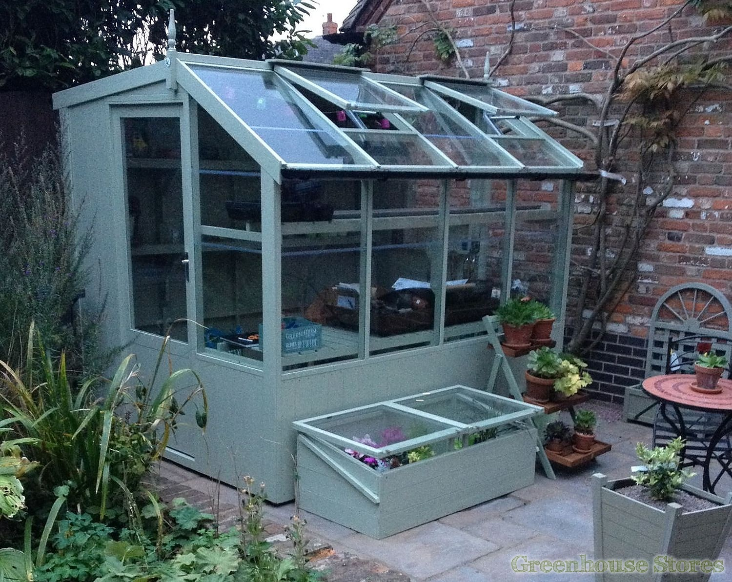 Swallow Jay 6x6 Wooden Potting Shed Greenhouse Stores