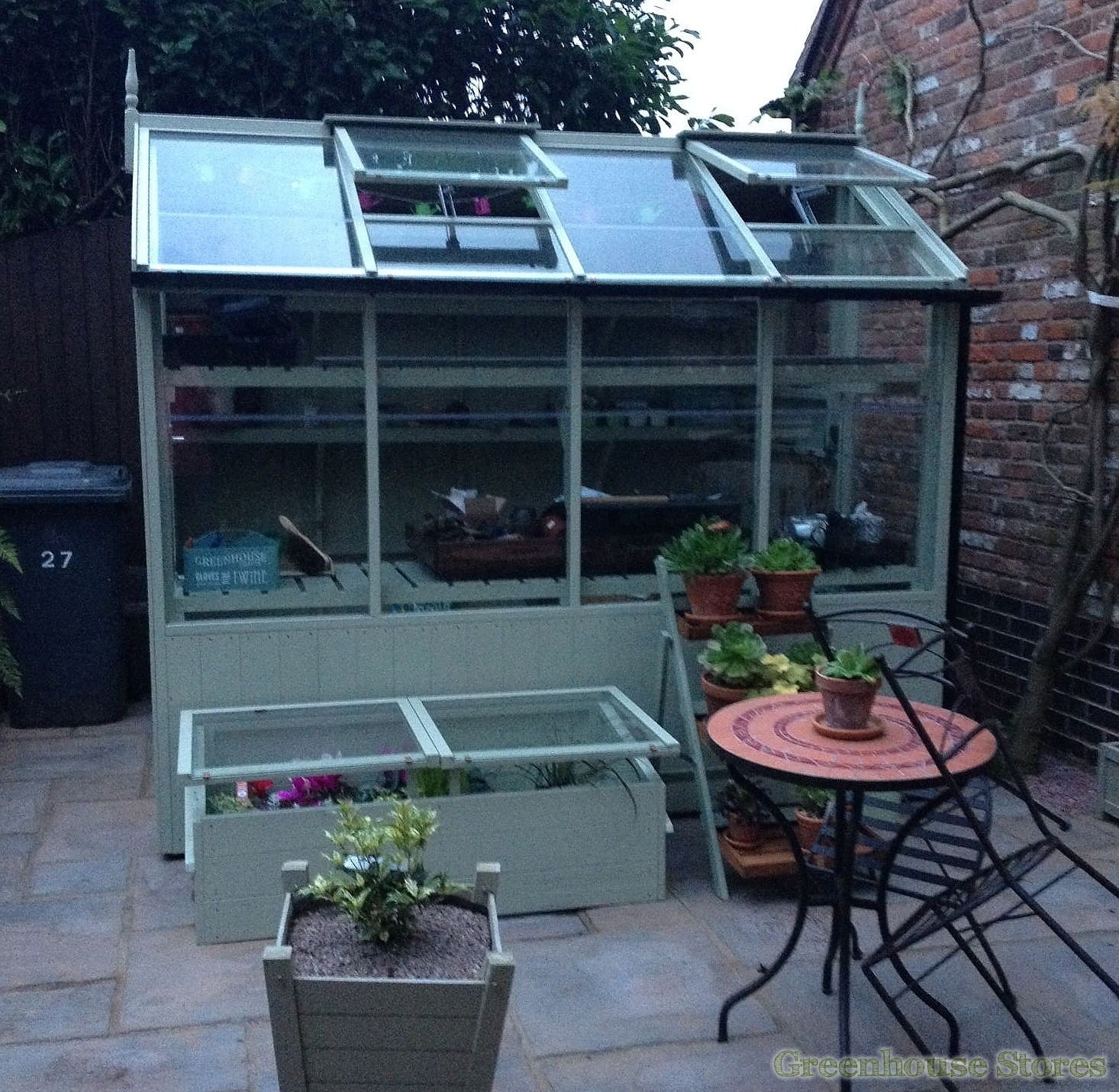 Swallow jay 6x6 wooden potting shed greenhouse stores for Buy potting shed