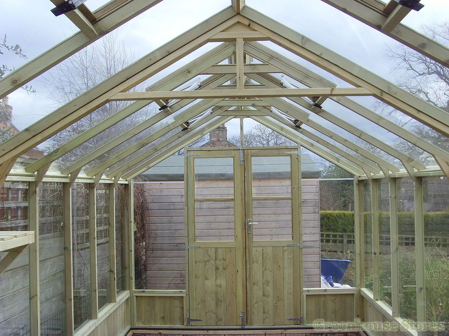 Swallow Raven 8x8 Wooden Greenhouse Greenhouse Stores