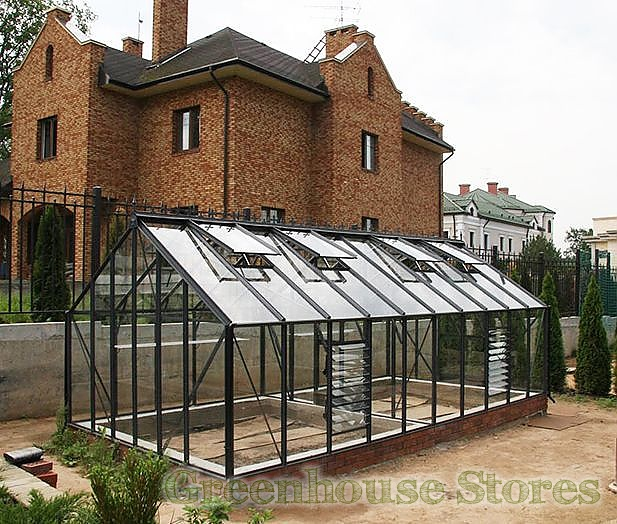 Elite Supreme 10x6 Greenhouse Toughened Greenhouse Stores