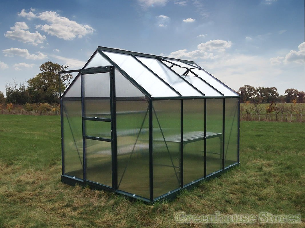 Grow Master Green 8x6 Greenhouse