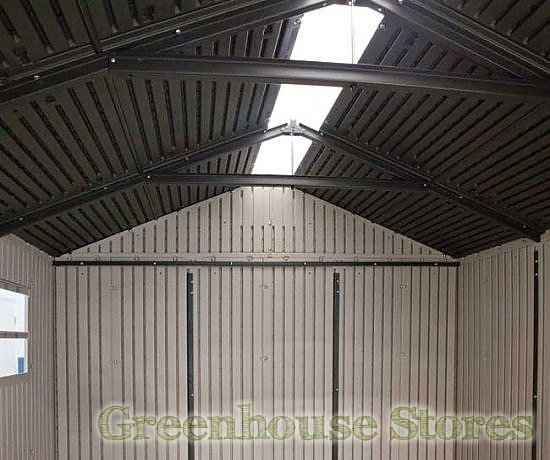 Lifetime 8x2 5 Plastic Shed Greenhouse Stores