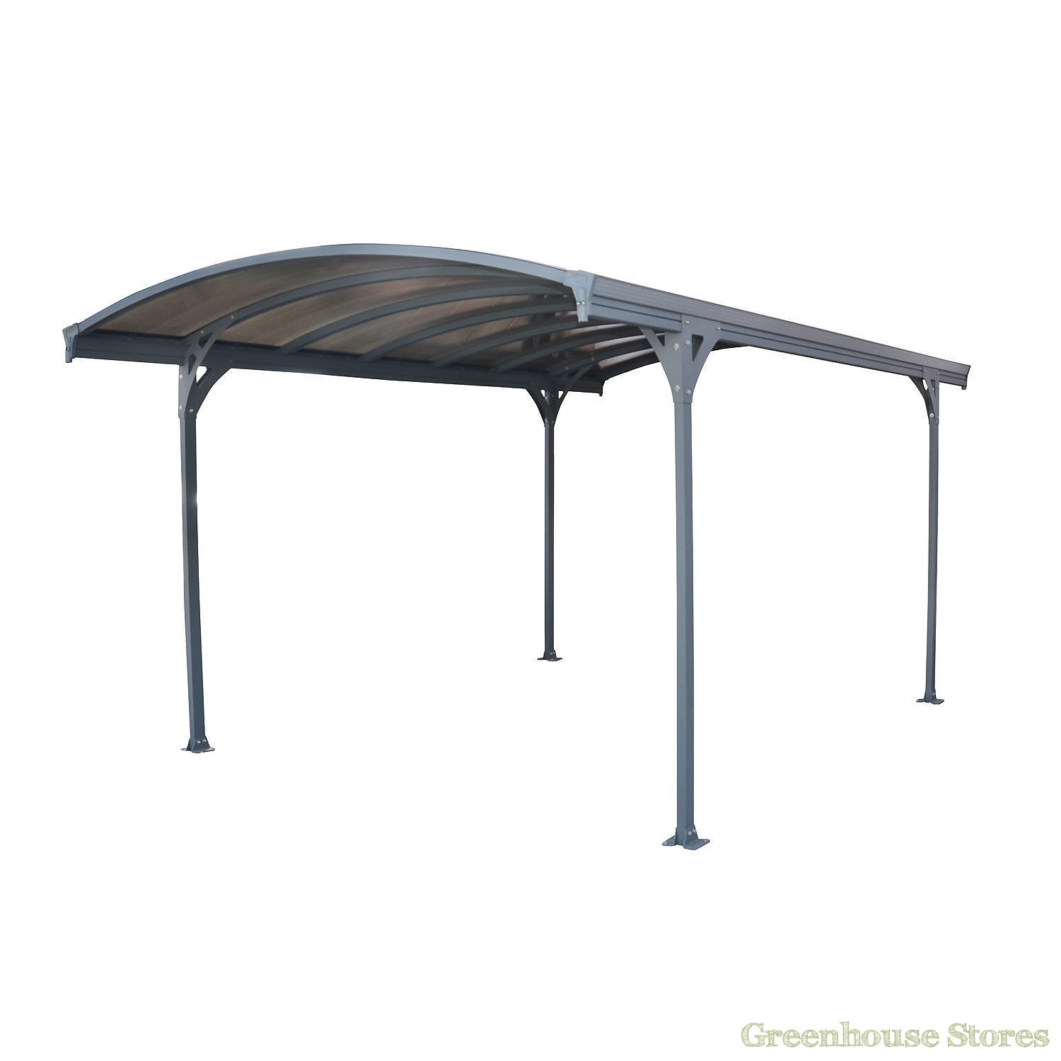 Palram vitoria 5000 carport greenhouse stores for Table exterieur galvanise
