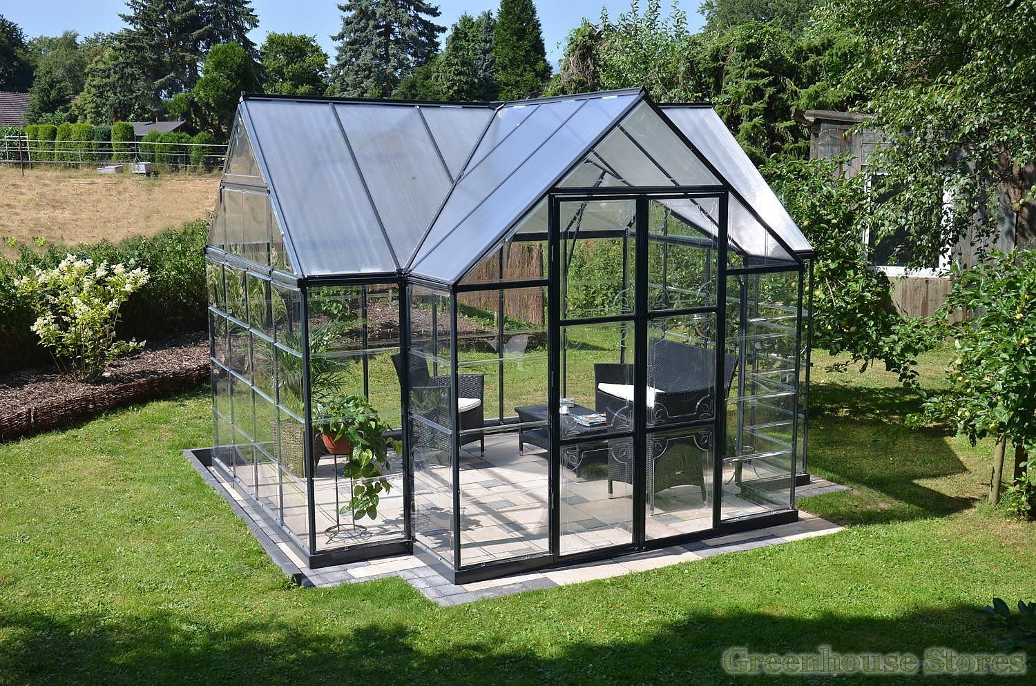 palram victory orangery polycarbonate greenhouse stores. Black Bedroom Furniture Sets. Home Design Ideas