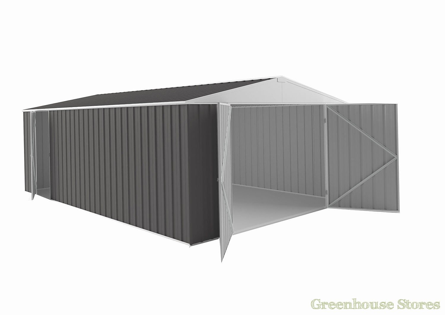 Melbourne 10x20 Metal Garage Greenhouse Stores