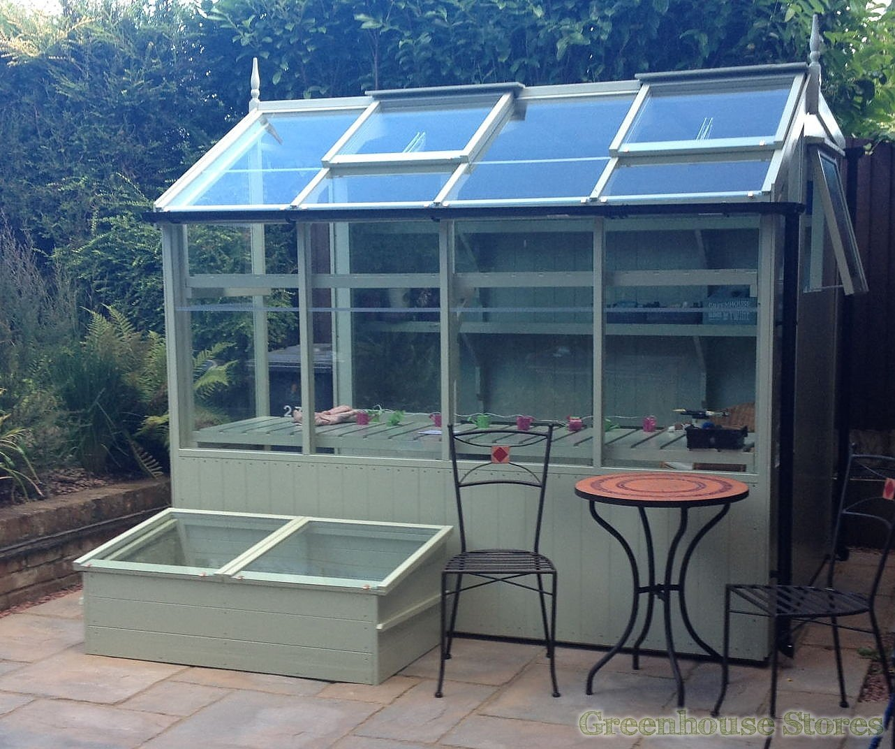 Swallow jay 6x10 wooden potting shed greenhouse stores for Potting shed