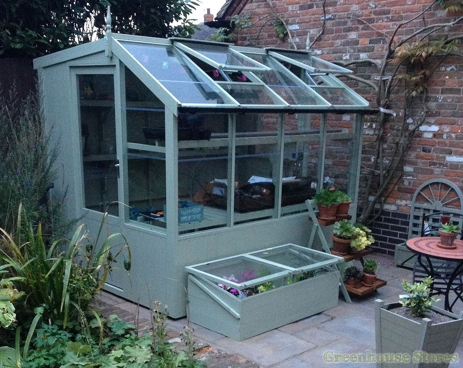 Wonderful Potting Shed #5: Swallow Jay 6x8 Potting Shed In Summer Green