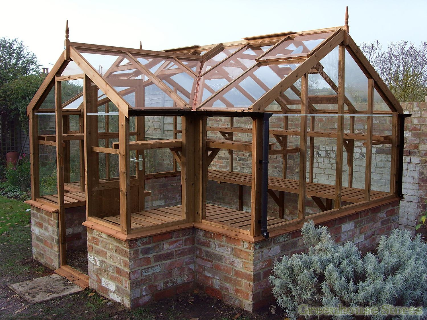 Swallow Mallard 8x19 Wooden Greenhouse Greenhouse Stores