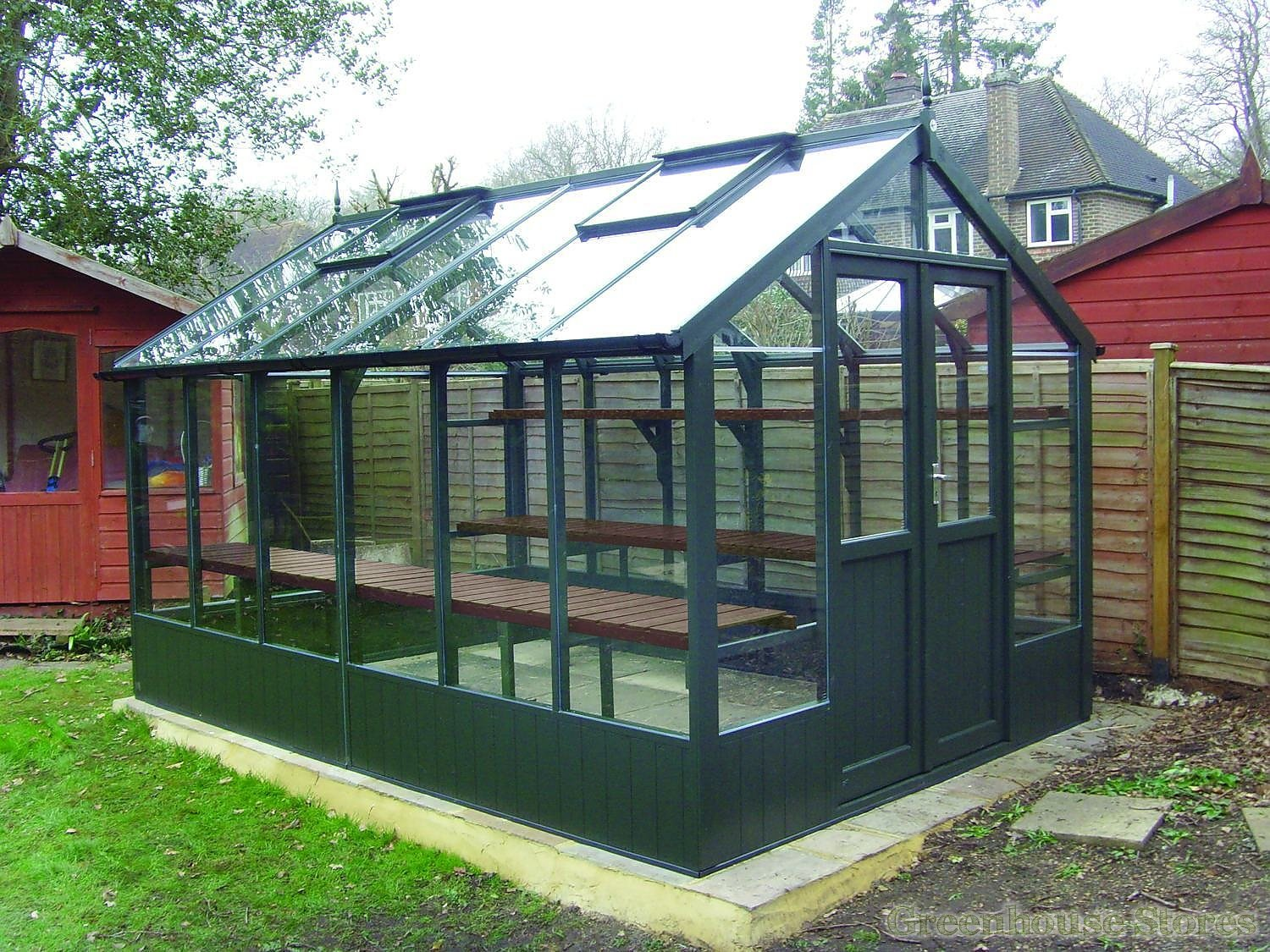 Swallow Raven 8x4 Greenhouse Shed Combination