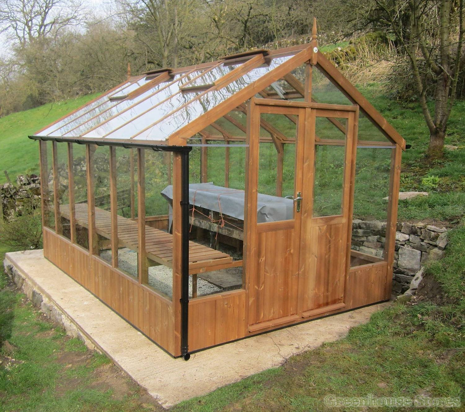 Swallow Raven 8x20 Wooden Greenhouse - Greenhouse Stores