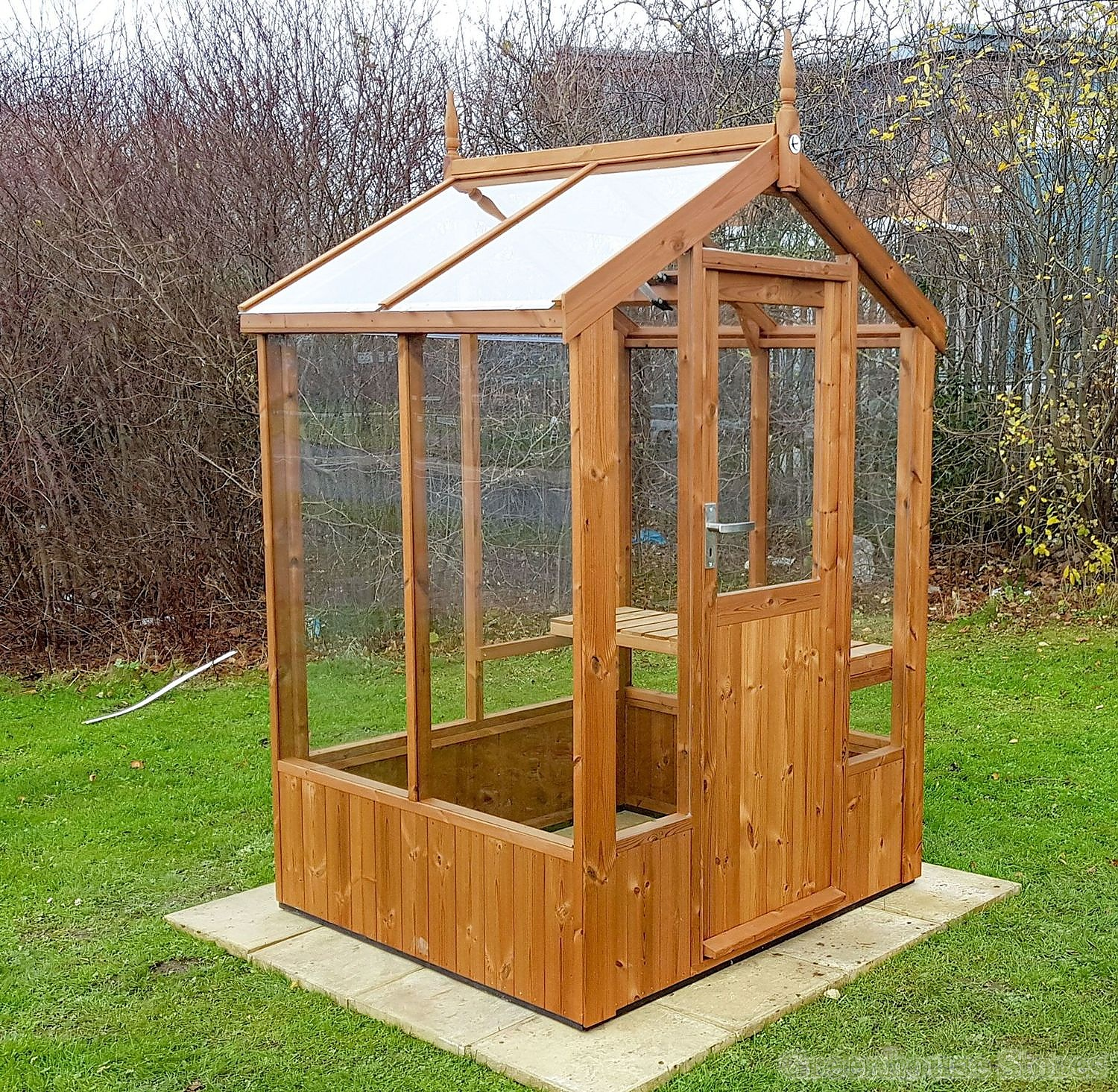 Swallow%20Lark%204x4%20Wooden%20Greenhouse%20in%20Thermowood Hard Green Plank Homes on green ladder, green plate doral, green pendleton, green plant, green paris, green cobra, green sheet, green panel, green log, green page, green cement,