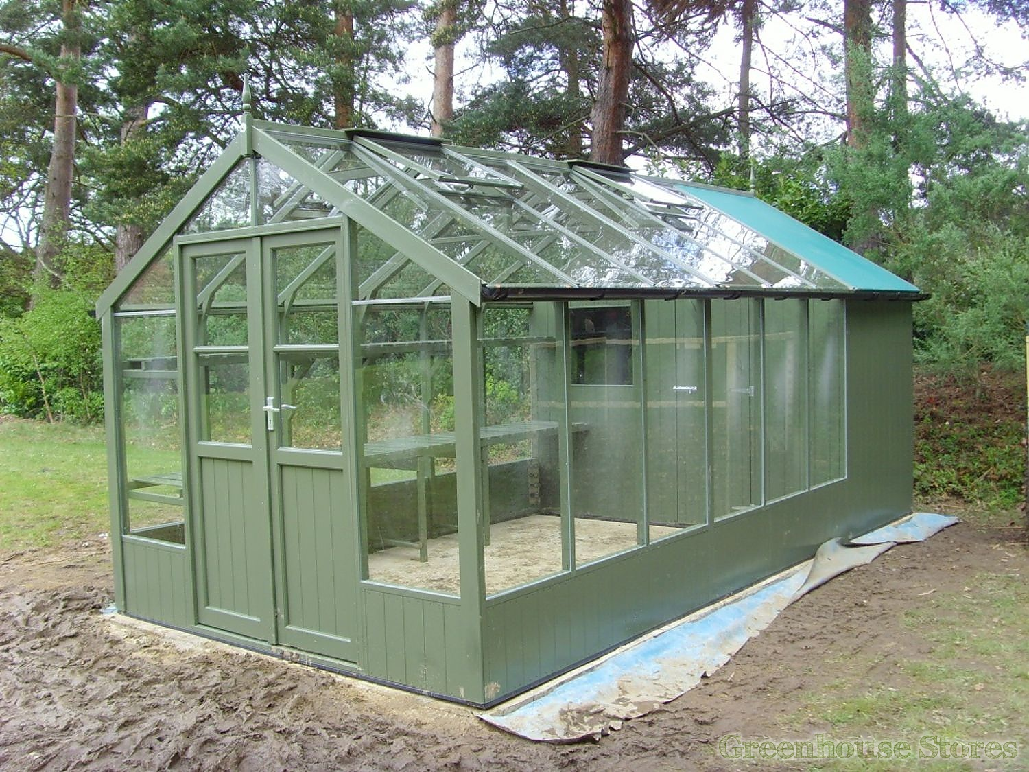 Swallow raven 8x12 wooden greenhouse greenhouse stores Green house sheds
