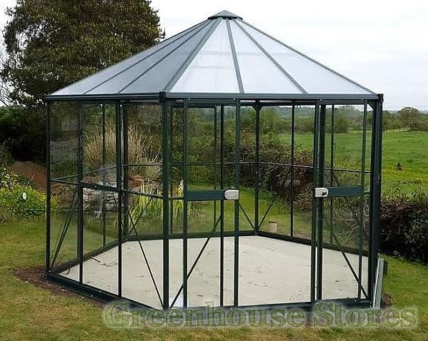 vitavia hera 9000 orangery toughened greenhouse stores. Black Bedroom Furniture Sets. Home Design Ideas
