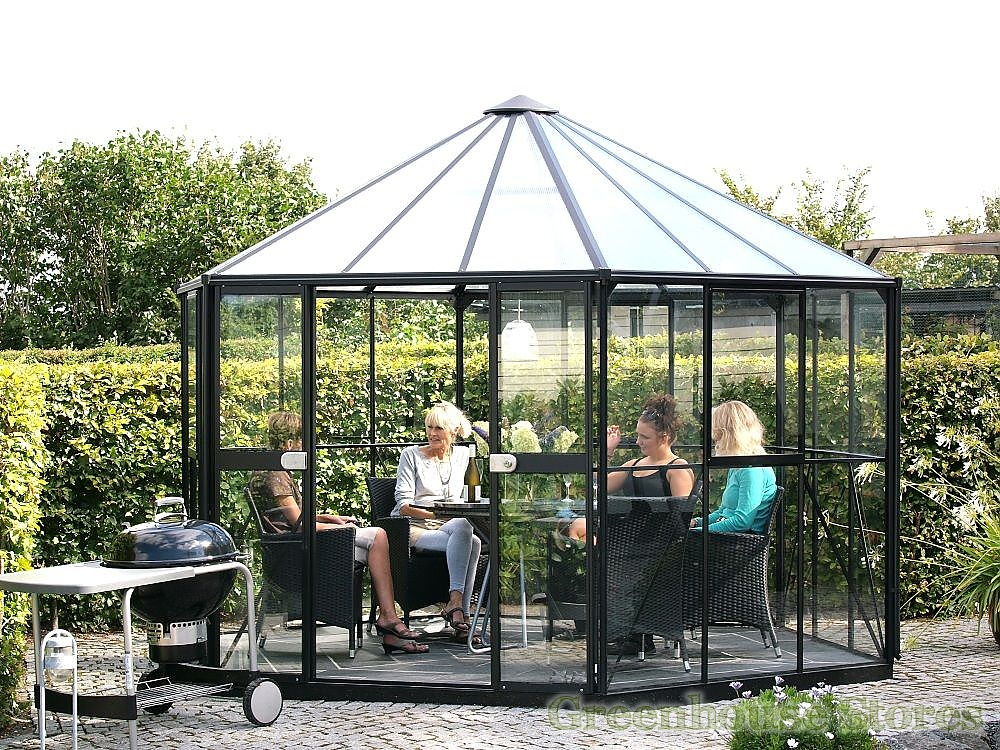 vitavia hera 9000 black orangery toughened. Black Bedroom Furniture Sets. Home Design Ideas