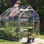 Vitavia Orion Silver 8x6 Greenhouse - Toughened Glazing