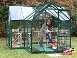 Eden-Orangery-Green-Greenhouse-3mm-Toughened-Glazing