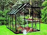 Eden-Regent-Black-8x6-Greenhouse-Toughened-Glazing