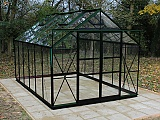Eden-Viscount-8x12-Green-Greenhouse-Toughened-Glazing