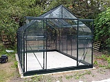 Halls-Supreme-Green-8x14-Greenhouse-3mm-Toughened-Glazing