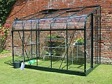 Halls-Silverline-Green-6x10-Lean-to-Greenhouse-3mm-Toughened-Glazing