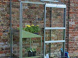 Halls-2x4-Wall-Garden-Lean-to-Greenhouse-Toughened-Safety-Glazing