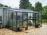 Juliana-10x14-Silver-Lean-to-Greenhouse