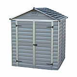 Palram-6x5-Plastic-Skylight-Grey-Shed