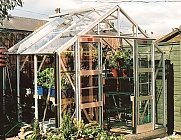 Elite Belmont 8x6 Greenhouse - Horticultural Glazing