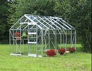 Elite Belmont 8x8 Greenhouse - Horticultural Glazing