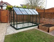 6x10 Green Halls Popular Greenhouse - Horticultural Glass