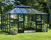 Juliana Anthracite Grand Oasis 14x9 Greenhouse
