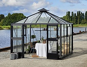 Juliana Anthracite Oasis 9x9 Greenhouse