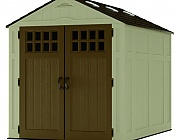 Suncast 6x8 Everett Three Plastic Shed