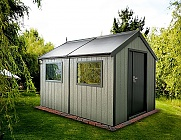 Swallow 8x12 Luxury Shed