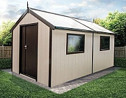 Swallow 8x16 Luxury Shed