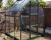 Vitavia Orion Green 6x6 Greenhouse - 3mm Toughened Glazing